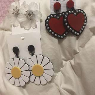 3 for $10 Korea earring