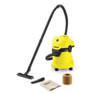 WD3 Karcher Wet & Dry (2-way) Vacuum Cleaner
