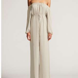Shona Joy off the shoulder jumpsuit