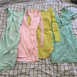 4 Dresses Bulk Bundle