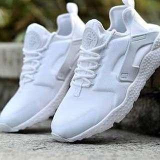 White Nike huaraches ultra  - huge price drop