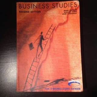 Year 12 Business Studies HSC Textbook