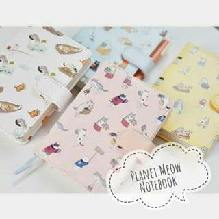 Planet Meow Notebook