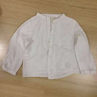 Zara Long Sleeve Mandarin Collar shirt