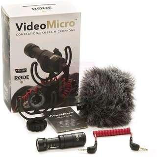 Brand New RODE Videomicro