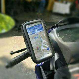 PHONE GPS HOLDER WATERPROFF / Y150 / RS150 / VERSYS / MOTORCYLE