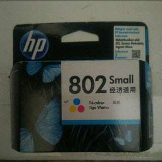 Cartridge HP 802 small tricollor