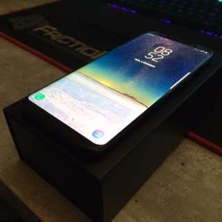AS NEW Samsung S8+