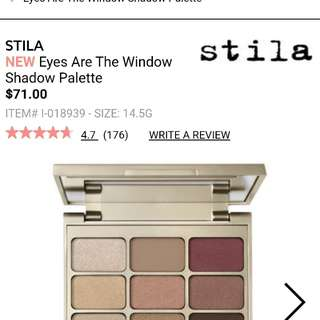 Stila eyeshadow palette