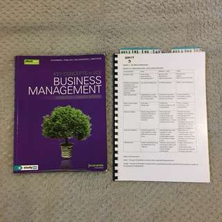 Business Management Textbook with Notes