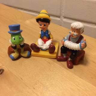 🚚 小木偶 3款合售
