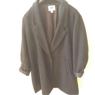 Old Navy Black Coat XXL