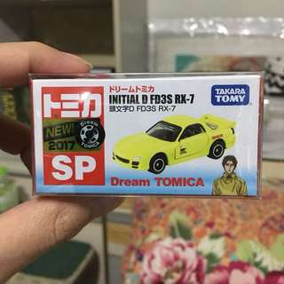 Tomica initial d fd3s rx7 2 versions