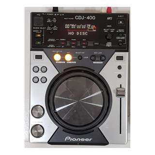 Pioneer CDJ-400 CD and MP3 Player