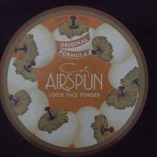 loose powder airspun