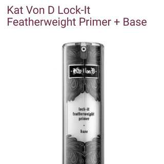 Kat Von D Lock It Featherweight Primer