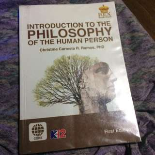 Introduction to the Philosophy of Human Person (SHS book)