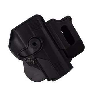 台南 武星級 PX4 專用槍套 彈匣套 硬殼 快拔 腰掛 黑 (CQC腰掛BB槍BB彈瓦斯槍空氣槍CO2槍道具槍槍袋彈匣