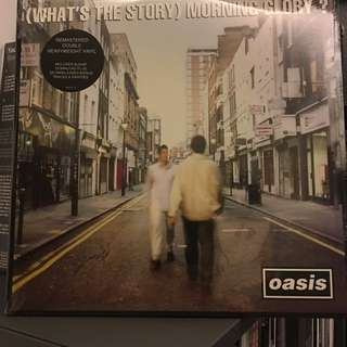 Sold. Oasis - What's the story morning glory? Vinyl Lp. New