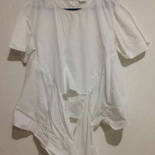 White blouse merk magnolia baru dpake skali doang