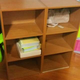 3 Tier wooden shelf( 4 pieces available)