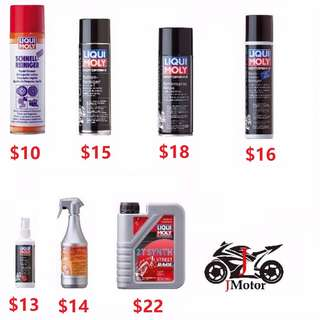 Liqui Moly Motorcycle / Motorbike Care Products Liqui Moly Motorcycle / Motorbike Care Products
