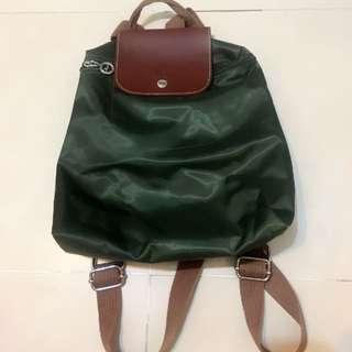 Backpack bags 背包 墨綠色