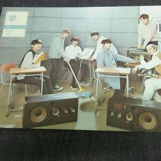 Bts Begin official Mini Poster