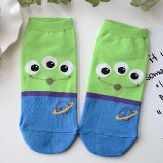 INSTOCKS Three Eyes Alien Socks