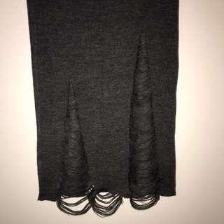 JORGE midi knit skirt