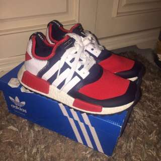 Adidas x White Mountaineering NMD Trail Navy Red