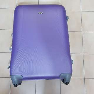Used 28inch purple luggage for sales