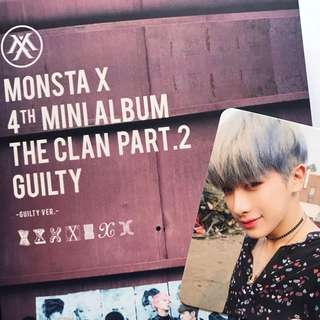 [WTS] MONSTA X THE CLAN PT 2 (GUILTY VER.)