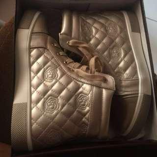 sneakers wedges / sepatu sneakers wanita YONGKI KOMALADI