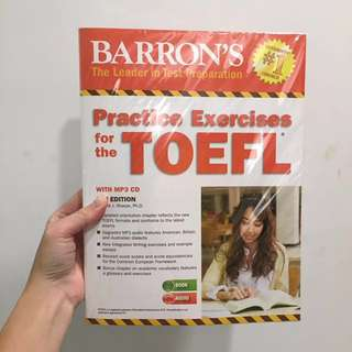 TOEFL 托福進口教科書 (免運