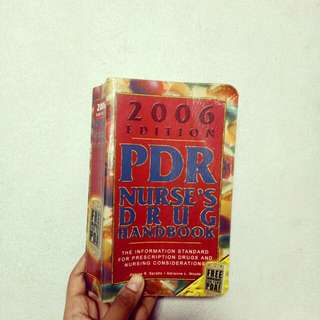 PDR Nurse Handbook 2006 Edition