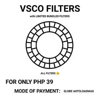 VSCO Filters (ALL FILTERS) with Limited Bundled Filters ❤