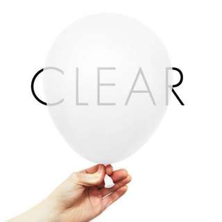 Clear Balloons | Confetti Balloons