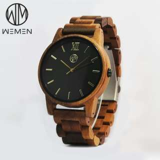 Wooden Watch - Walnut