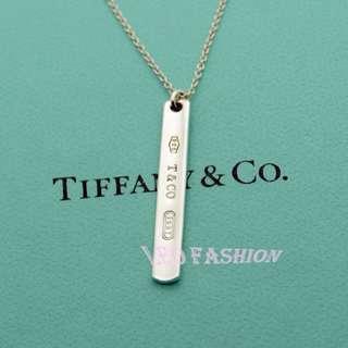 🚚 【LEO FASHION】二手正美品 Tiffany & Co. 經典新款1837長條牌項鍊