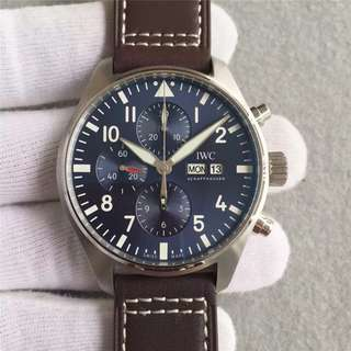 玩表吧 見面交收 IWC Pilot Watch Chronograph Edition Le Petit Prince 43mm IW377706