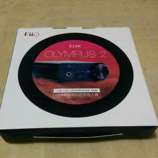 Fiio Olympus 2 E10K USB DAC Headphone Amp