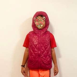 Winter hooded vest