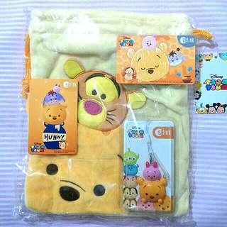 Bundle Set Winnie the Pooh ezlink with Bag