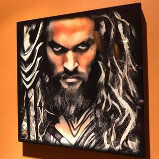Aquaman - Pop Art Poster Frame