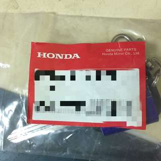 Honda鑰匙