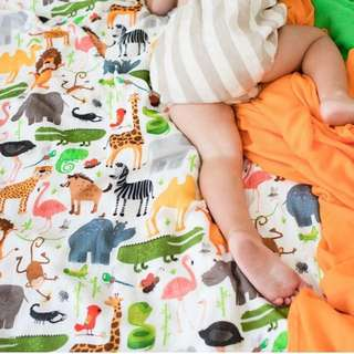 Tula Cuddle Me Blanket - Safari