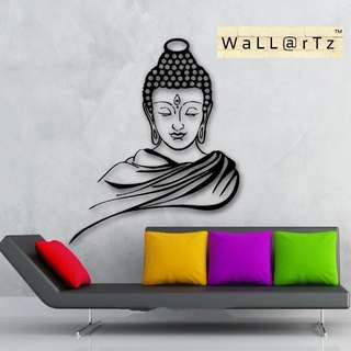 Wall decal Sticker Budha