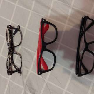🚚 無鏡片眼鏡
