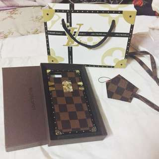 LV damier cases for iphone 6